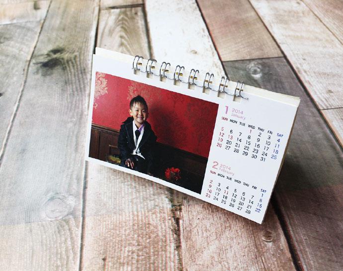 卓上タイプカレンダー