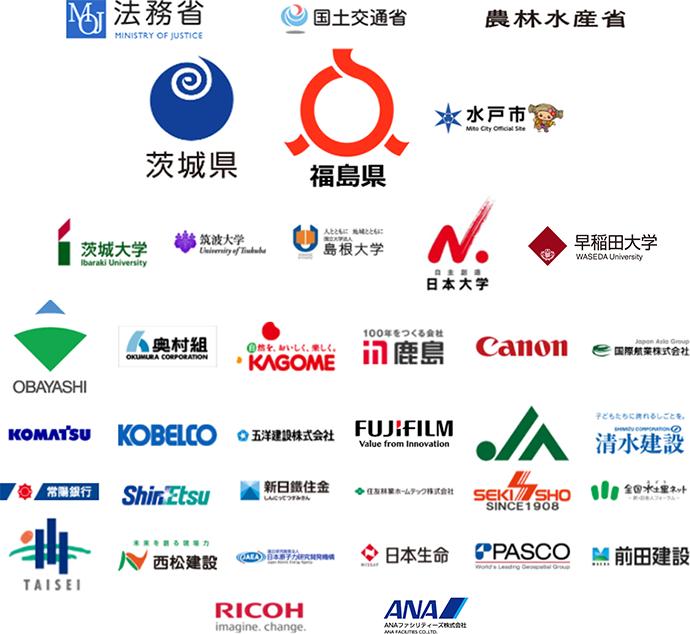 取引企業・団体一覧(抜粋)